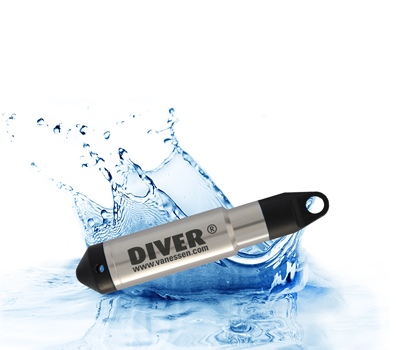 Diver water level logger
